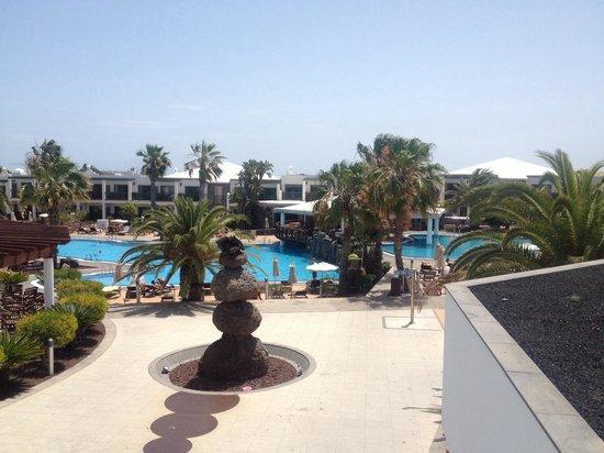 Las Marismas de Corralejo: May 2014 view from reception