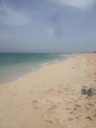 Las Marismas de Corralejo: Flag beach