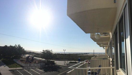 Pan American Hotel: towards beach
