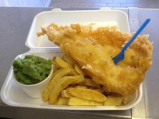 The Master Fryer: traditional fish and chips
