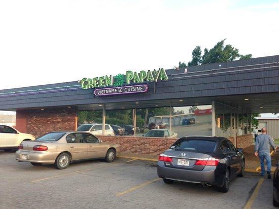 Exterior Green Papaya