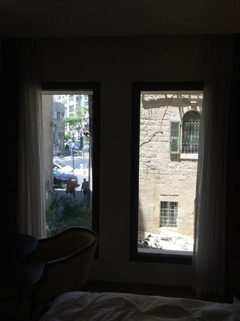 Mamilla Hotel : Not a great view from room 221