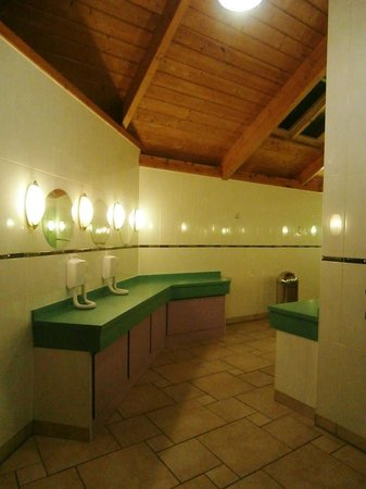 Ayr Holiday Park: The lovely shower/loos block!