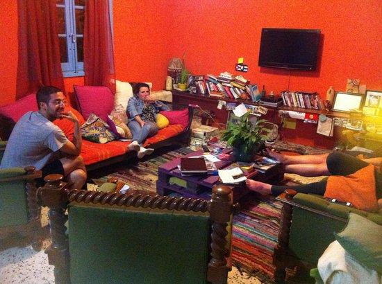 Boho Hostel : Lazy living room