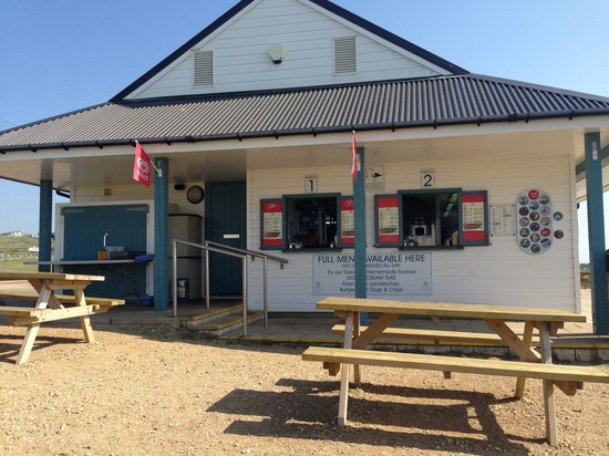 Portland Plateau: Cafe at portland bill