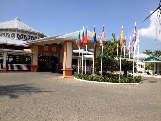 Grand Bahia Principe San Juan : entrada