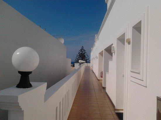 """Majestic Hotel: loftgången i """"min"""" byggnad"""
