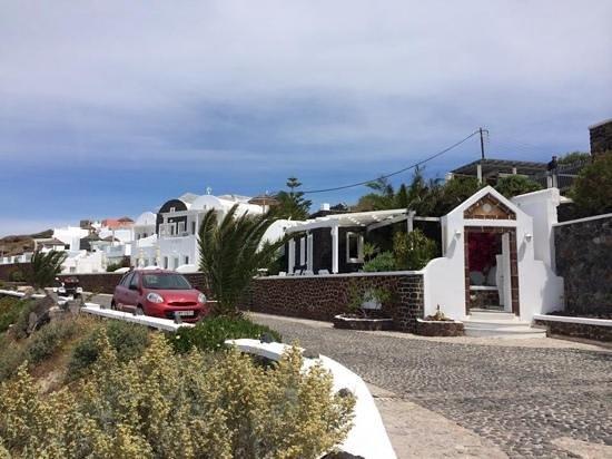 Santorini Princess: hotel