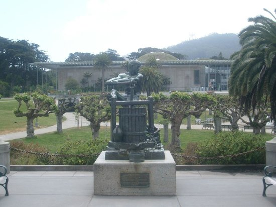 de Young Museum : View from outside the Museum