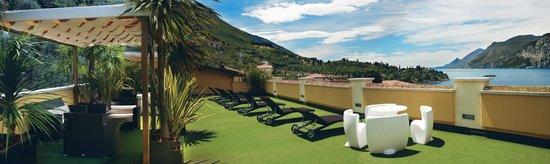 Wellness Hotel Casa Barca: terracce