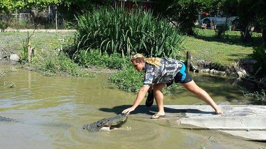 Zam's Bayou Swamp Tours: Crazy Cajun!