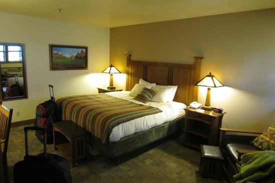 Zion Lodge : Our king room