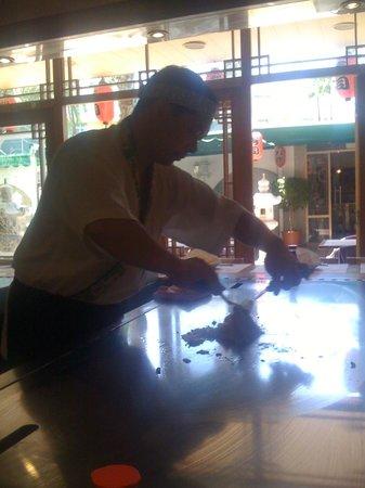Apartamentos Jardín del Sol: Sakura Japanese restaurant