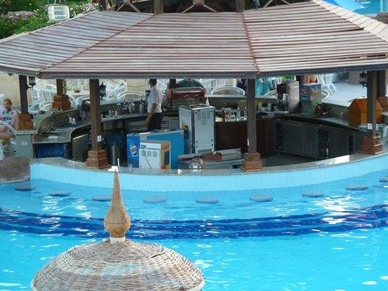 Sierra Sharm El Sheikh : Excellent pool bar (see the fridge??)