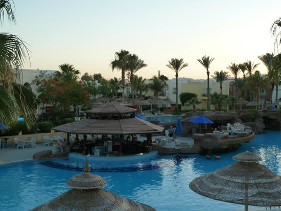 Sierra Sharm El Sheikh : Another view from our 1st floor balcony