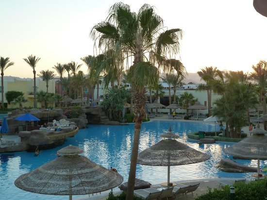 Sierra Sharm El Sheikh : View from our 1st floor balcony