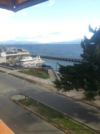 Hotel Tres Reyes: Vista da janela frontal, 2º andar