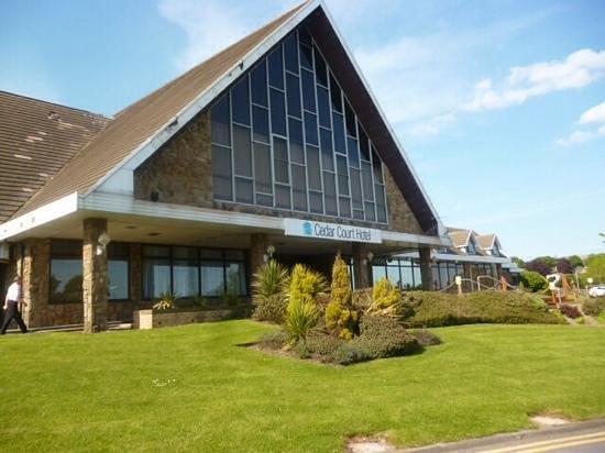 Cedar Court Hotel Huddersfield/Halifax: first impression