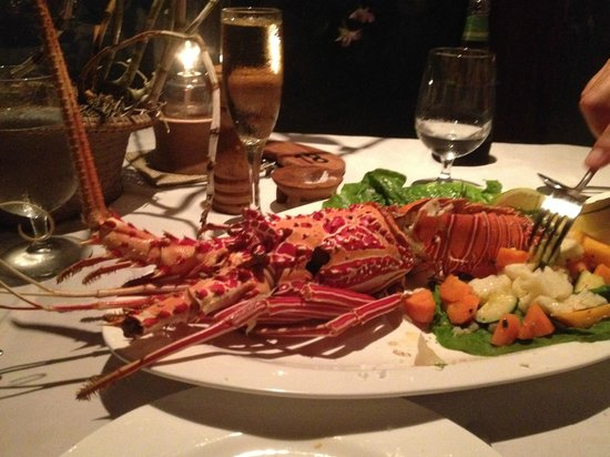 Tokoriki Island Resort: Seafood Lobster dinner - you need to book this