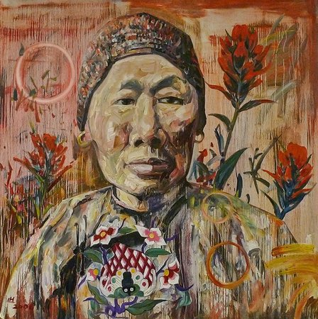 Pacific Asia Museum : China Mary (Wyoming 2) by Chinese-born American artist Hung Liu