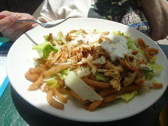 Margaritaville Panama City Beach : expensive chicken caesar salad