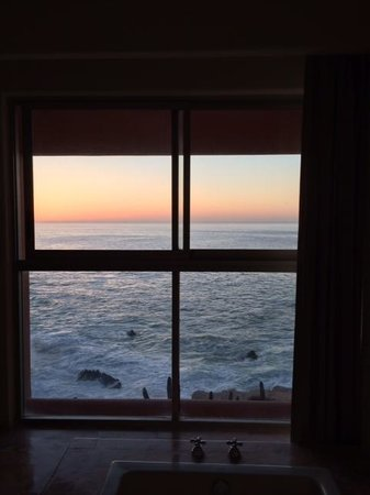 Club Regina Los Cabos: View from our bedroom in the morning