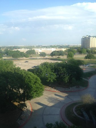 Hilton DFW Lakes Executive Conference Center: View from room