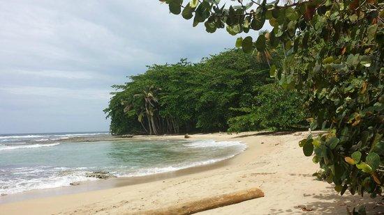 La Kukula Lodge: the beach to ourselves