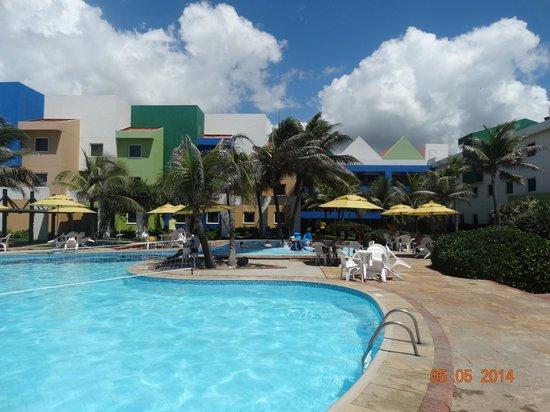 Oceani Beach Park Hotel: vista da piscina