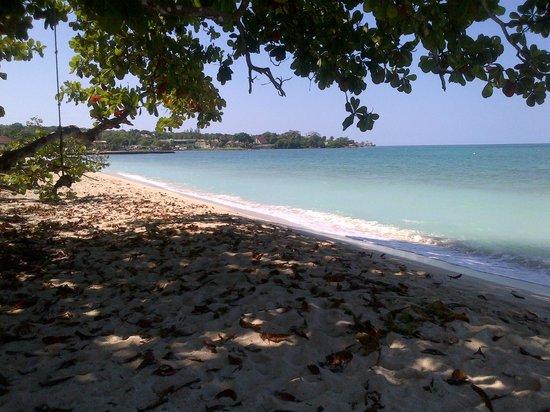 Fun Holiday Beach Resort: playa del hotel ( seven mile )