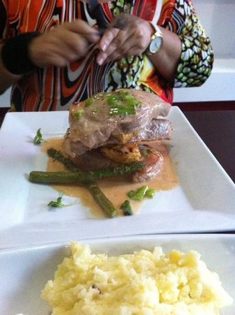 Textura Restaurant: filete Tropical