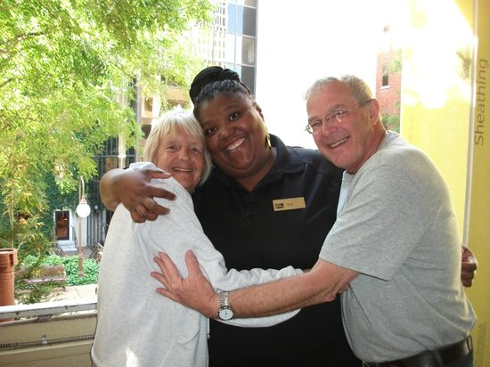 The Capitol Hotel Downtown Nashville: Ray of sunshine was Tye