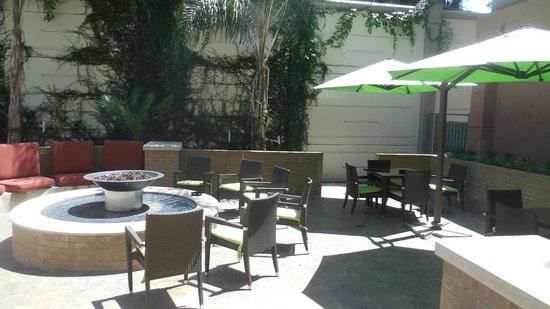 Crowne Plaza Houston Galleria Area: Cour arrière ou se trouve la piscine