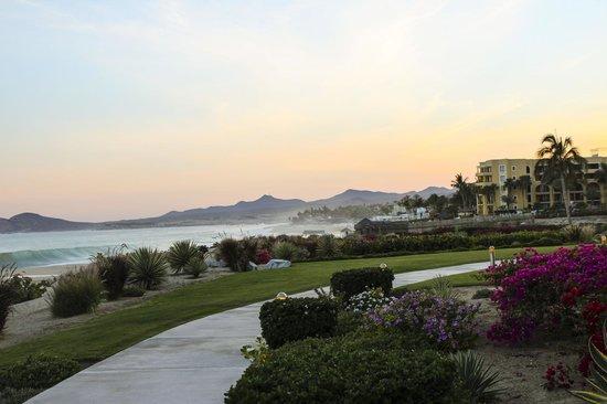 Casa Del Mar Beach Condos: Una vista del atardecer