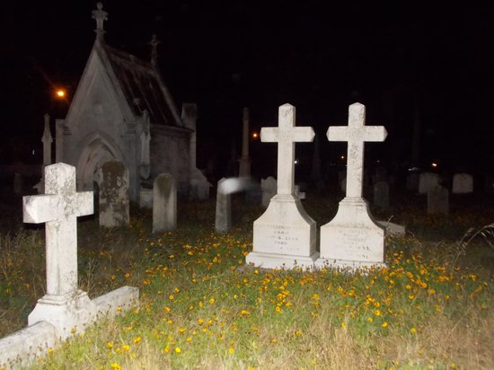 Ghost Tours of Galveston: orb in motion