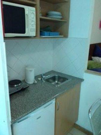 Bayside Salgados: cooking area