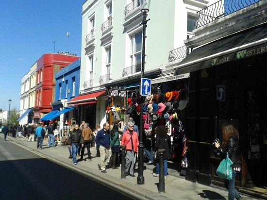 Portobello Road Market: locales varios