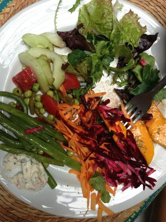 La Casa del Pan: Vegetables & Salads from the Buffet