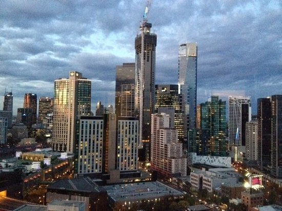 Crown Metropol Melbourne: View from just one of our floor to ceiling windows