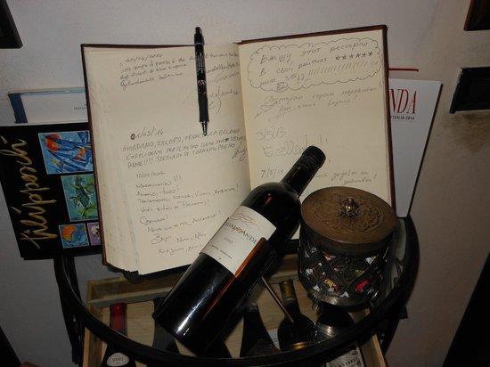 Le Logge del Vignola: libro per gli ospiti