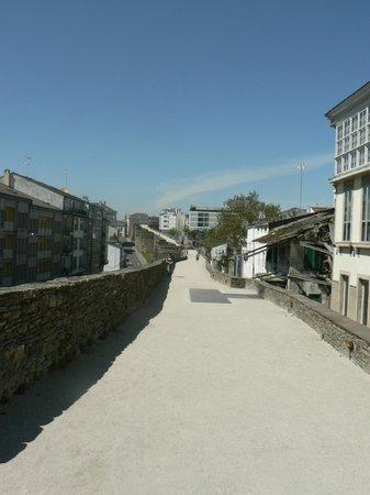 Las murallas romanas de Lugo: muralla romana de lugo