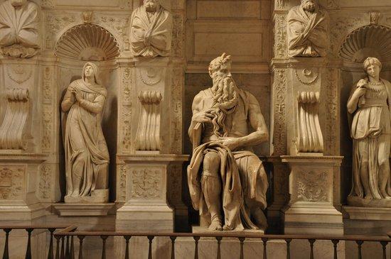 San Pietro in Vincoli: El Moisès de Miguel Àngel