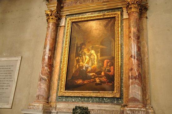 San Pietro in Vincoli: arte religioso en las naves laterales