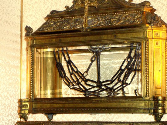 San Pietro in Vincoli: cadenas de San Pedro