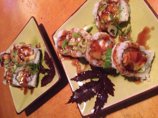 I Love Sushi : Mahi mahi teriyaki roll!