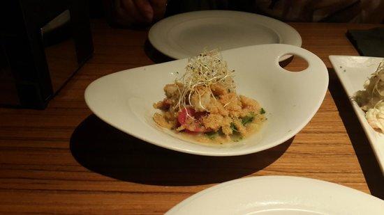 Albarama Restaurante Tapas : Ceviche de corvina
