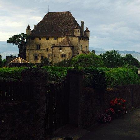 Visite d'Yvoire : Chateau d'yvoire