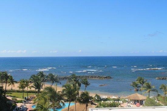 Embassy Suites by Hilton Dorado del Mar Beach Resort : Ocean view from room