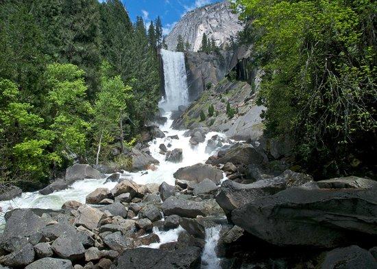 Half Dome Village: Vernal Falls