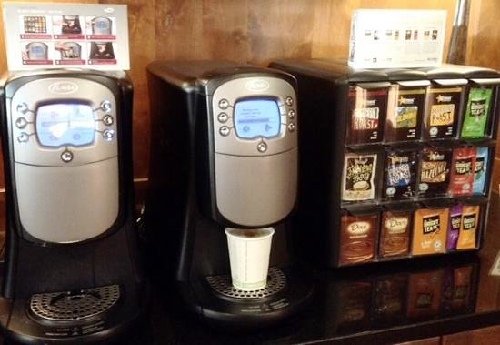 Sunrise Lodge by Hilton Grand Vacations : Fantastic Flavia coffee machine